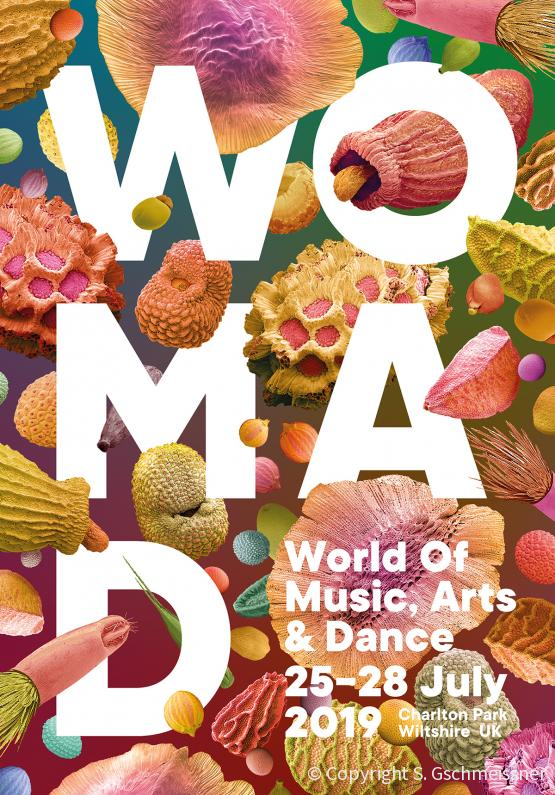 WOMAD festival programme
